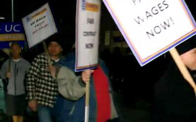 Quinto día de huelga de empleados de UCL será estatal