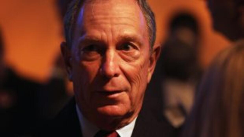 El alcalde de Nueva York, Michael Bloomberg, es un enérgico defensor de...