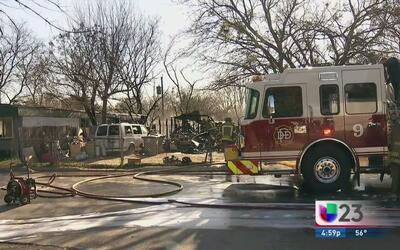 Incendios en Dallas por fuertes vientos