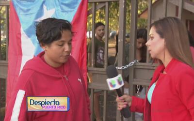 Inicia la huelga indefina en la Universidad de Puerto Rico, recinto Caro...
