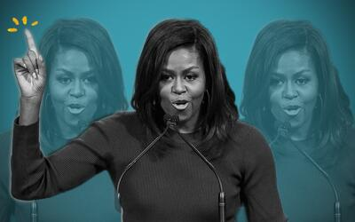 Michelle Obama sabe jugar el póquer de la política, pero e...