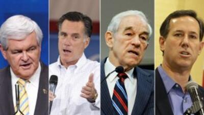 Según The New York Times, los pre candidatos republicanos a la presidenc...
