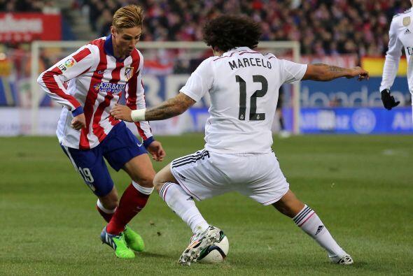 Fernando Torres jugó 59 minutos, en los que fue aplaudido en un r...