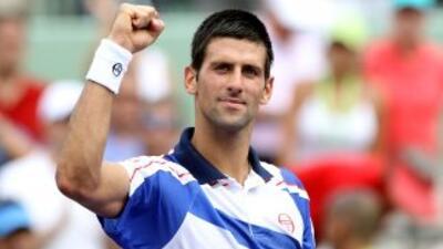 Djokovic se ha llevado cinco victorias este año en Miami sin perder un s...