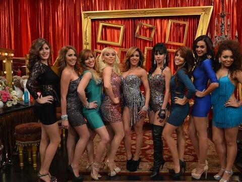 Ellas son las 9 aspirantes que semana tras semana compiten para demostra...