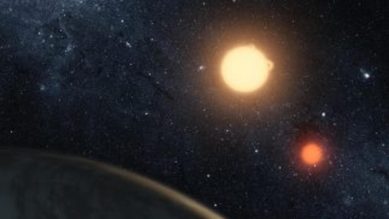 Si hubiera seres vivos en Kepler-16b, podrían observar un atardecer con...