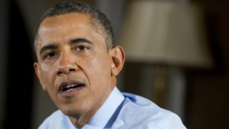 La aprobación sobre el desempeño de Obama se ubica en 57%, la más alta d...