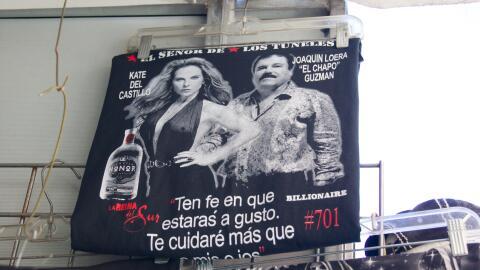 El Chapo Guzmán y Kate del Castillo, un éxito en ventas.