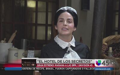 Ximena Herrera en El Hotel de los Secretos