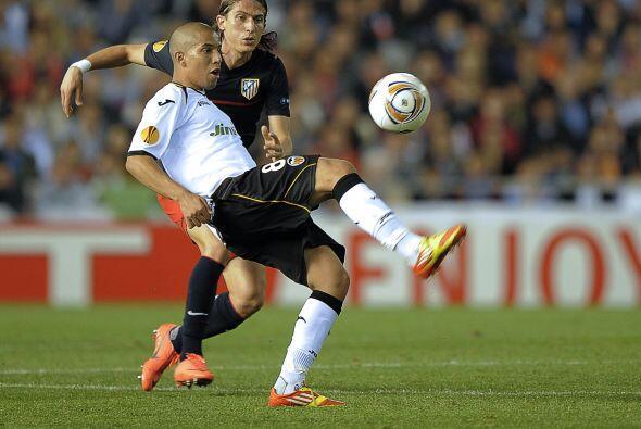 Eso dejaba ver que Valencia manejaba el balón con la presión de lograr u...