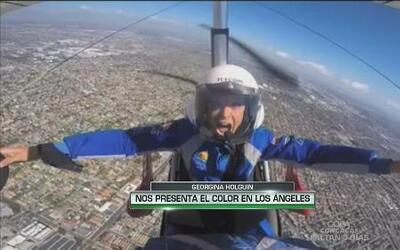Georgina Holguin nos presenta el color de Los Ángeles desde el aire