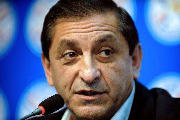 Ramón Díaz dirigió al América en el 2008 con resultados decepcionantes ,...