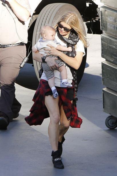Fergie había dicho que su bebé era más parecido a J...