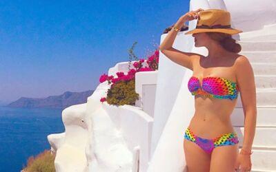 ¡Galilea Montijo es la más sexy en bikini!