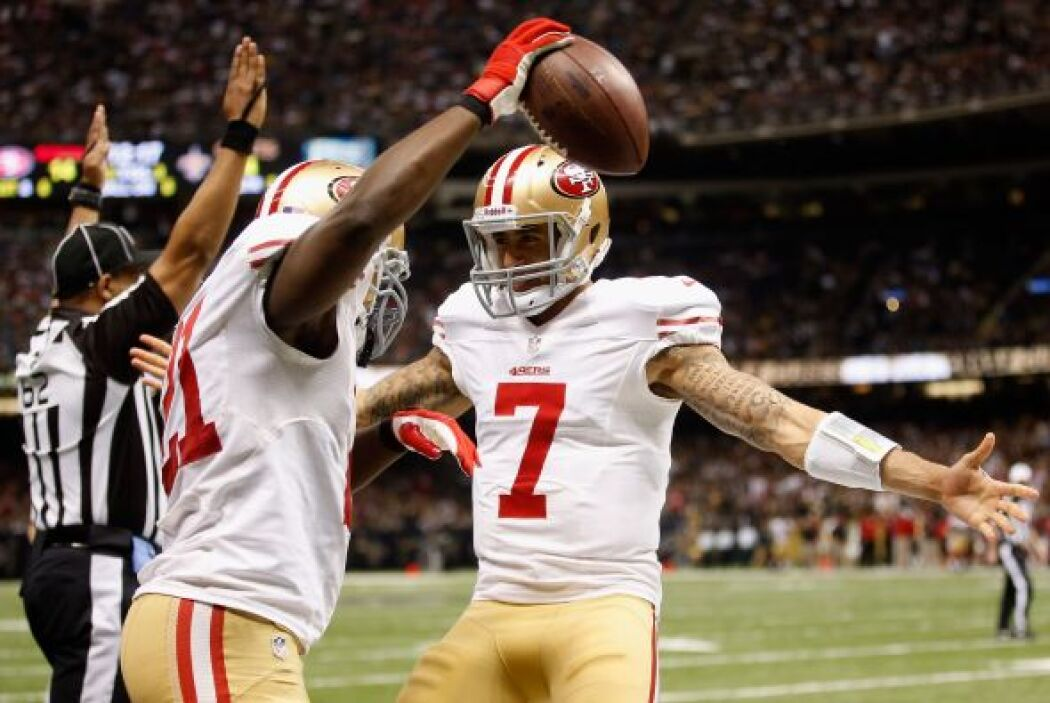 Los 49ers lograron derrotar en el Superdomo a los Saints con marcador de...