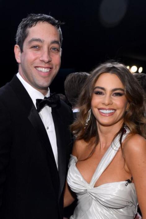 Durante el evento la pareja se mostró feliz de la vida, los chistes y mi...