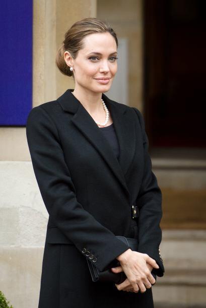 Ojalá Angelina fuera tan consciente en sus métodos para bajar de peso co...