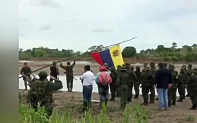 Militares venezolanos desinstalaron su campamento en territorio colombiano