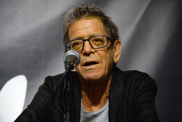 Lou Reed, legendario músico y pionero del rock, falleció el domingo 27 d...