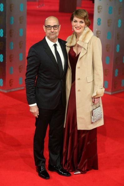 'Glamour' británico fue lo que el actor Stanley Tucci y su mujer Felicit...