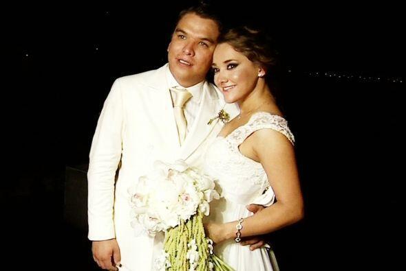 Primeras imágenes de la boda civil de Sherlyn con Gerardo Islas c...