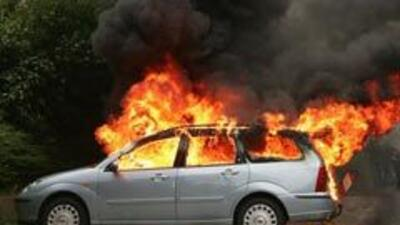 ¿Por qué se incendia un auto?