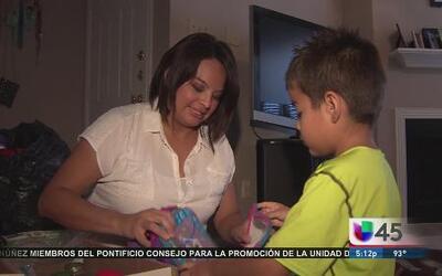 Niño llevará ayuda a menores en la frontera