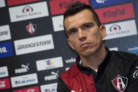 Juan Pablo Rodríguez, jugador del Atlas, también critic&oa...