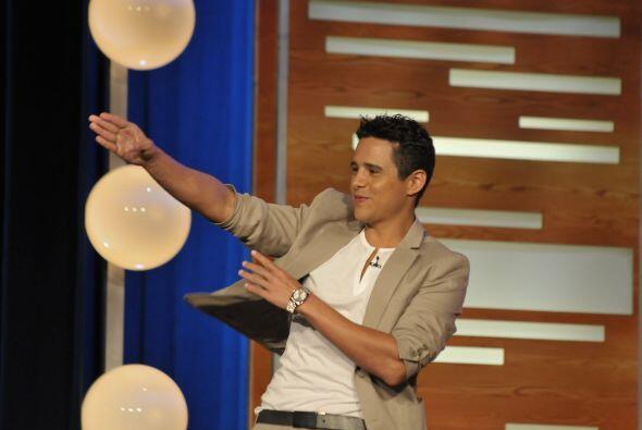 Alejandro Chabán le puso el toque juvenil al show