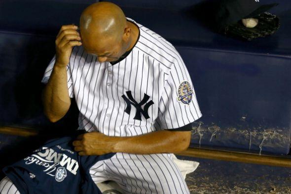 En el entreinning Mariano Rivera pudo ver por última vez un parti...