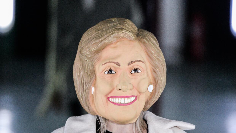 Hillary Clinton también se hizo presente en el desfile de Avoc.