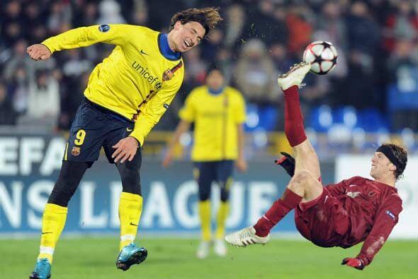 El Barcelona se estrelló contra el muro defensivo del Rubí...