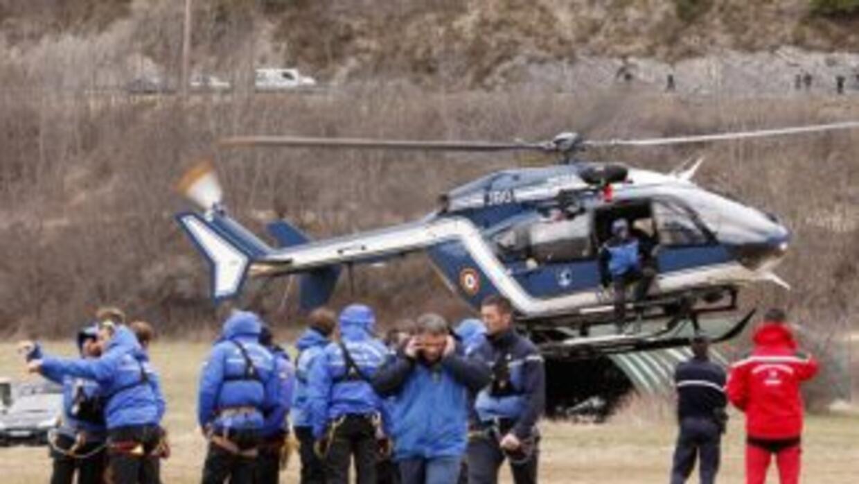 Encuentran fuselaje del avión de Germanwings