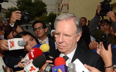 El periodista Joaquín López Dóriga