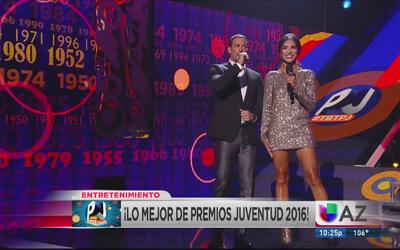 ¡Revive los mejores momentos de Premios Juventud 2016!