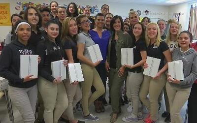 La profesora de español Florencia Palacios: yo soy responsable por ellos