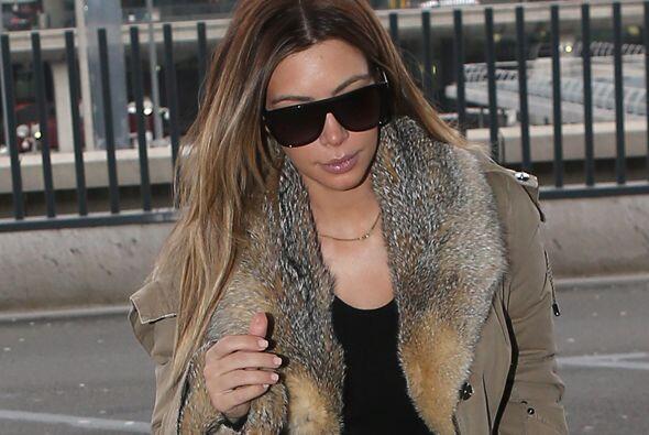 La estrella de televisión regresó guapísima de la Semana de la Moda en P...