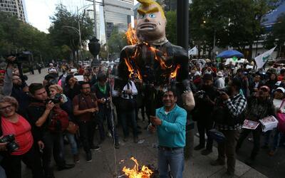 Protestas, la cara inconforme del país tras la juramentación de Donald T...