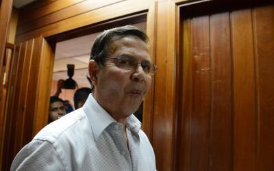 Expresidente Callejas se declara culpable