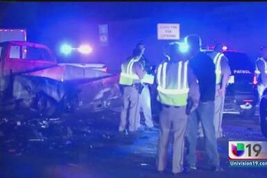 Fatal choque por conducir en sentido contrario