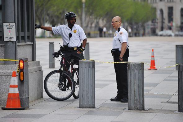 """""""Tenemos unos mil miembros de la policía de Nueva York (NYPD) designados..."""