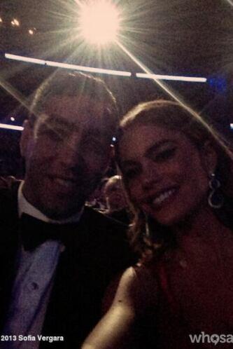 Sofía con Nick, antes de comenzar el show. Mira aquí lo último en chismes.