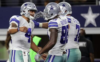 Cowboys aseguran lugar en playoffs