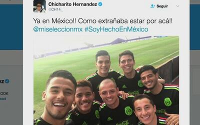 Los jugadores mexicanos mostraron en las redes lo bien que la pasan en l...
