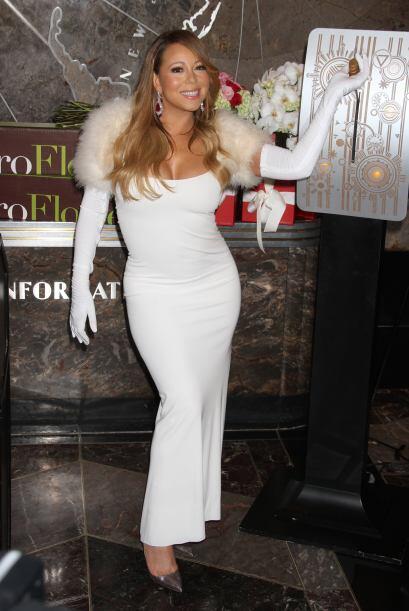 Pero como Mariah Carey es muy generosa, decidió engalanar este ev...