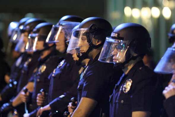 El Departamento de Policía de la ciudad garantiza, el derecho de la prim...