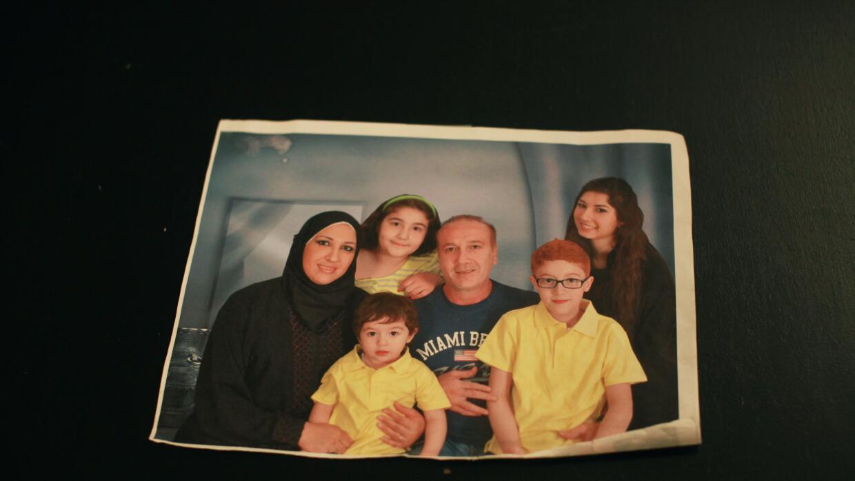 Una de las pocas fotos que conservan tomada en Arabia Saudita