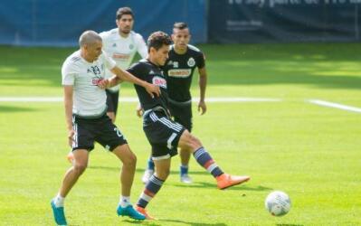 El entrenamiento de este lunes de Chivas no fue en Verde Valle.