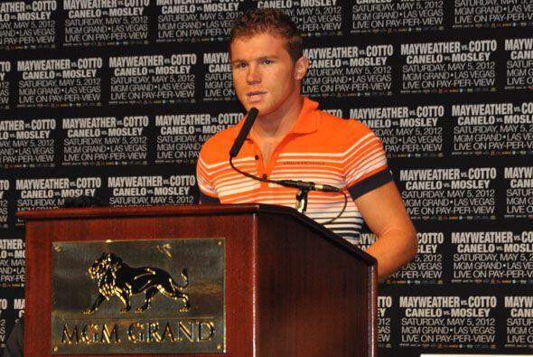 Saúl Alvarez dijo que es un sueño pelear con Shane Mosley, pero es un su...