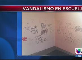 Buscan a responsables de vandalismo